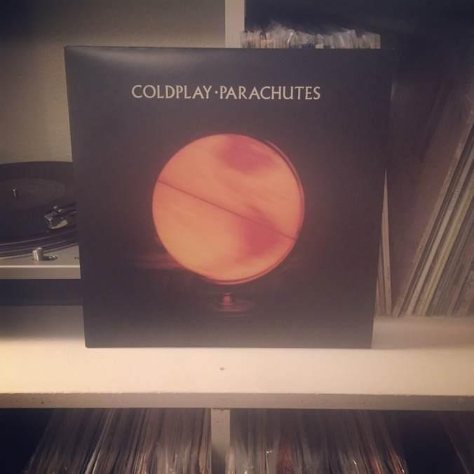Record #322: Coldplay - Parachutes (2000) - A Year of Vinyl